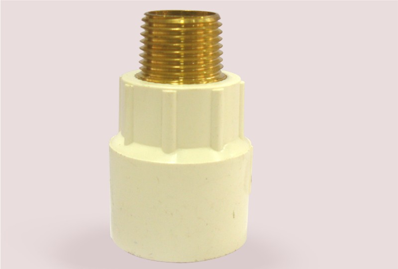 Reducing Brass Male Threaded Adaptor( MTA) – Round
